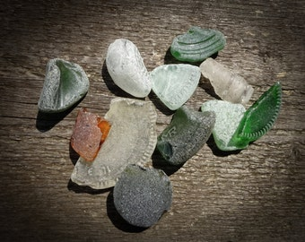 Pure seaglass from Brittany France