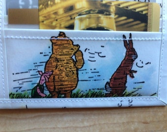 Winnie the Pooh - Recycled Bifold Wallet - Pooh and Christopher Robin