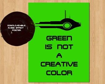 Synthesis Quote Mass Effect  Poster