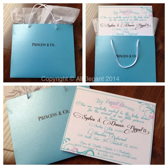 Princess & Co. Inspired Baby Shower Invitation By AllElegant