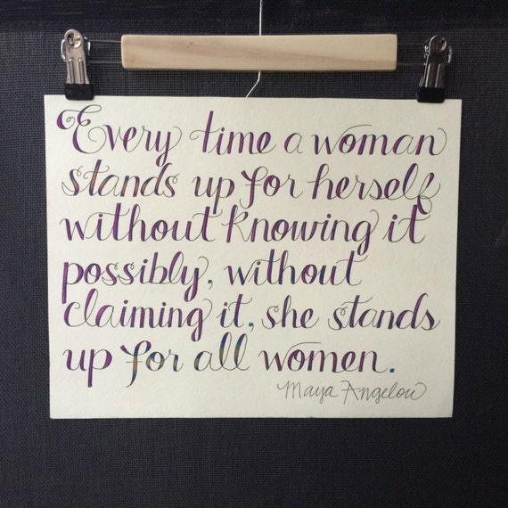 maya angelou quote powerful etsy posters international women's day 2015