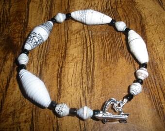 Handmade Paper Bracelet