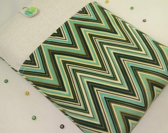 iPad air Cover,iPad Air Case, iPad Air Sleeve, iPad Air Cover, PADDED, with pockets -  Chevron Zig Zag