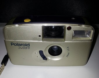 Vintage Polaroid 2400FF 35mm Camera