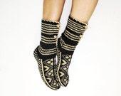 Knitting socks durable acrylic yarn - special to knit socks Ready to ship 37-38 EU