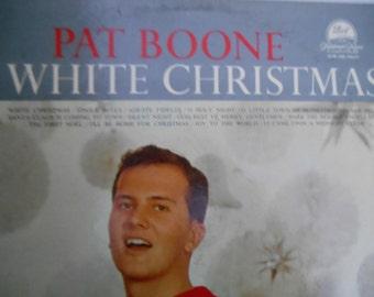 Pat Boone- White Christmas- vinyl record