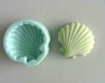 Shell Soap Mold Flexible Silicone Mold mould For Handmade Soap Candle Candy Cake mold Polymer Clay Fimo Resin Crafts stampi per resina