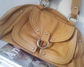 Gorgeous Tan Leather Bag - soft leather