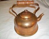 Vintage Portugal Copper Teapot
