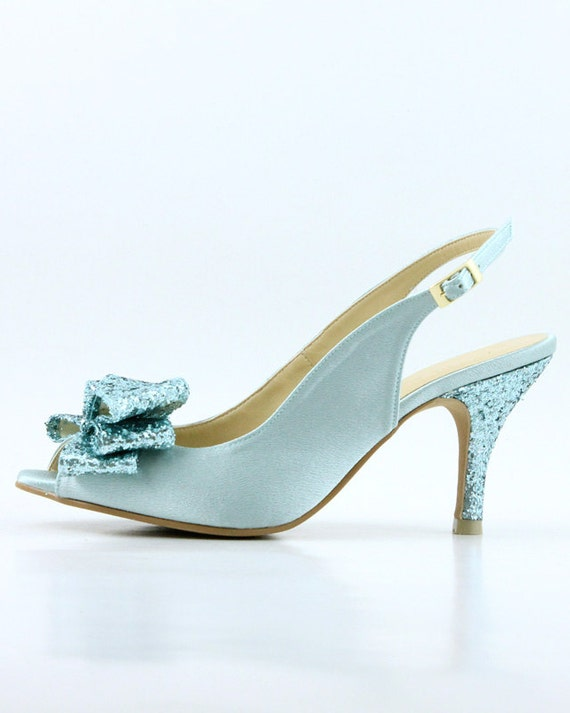 items similar to something blue wedding shoes powder blue