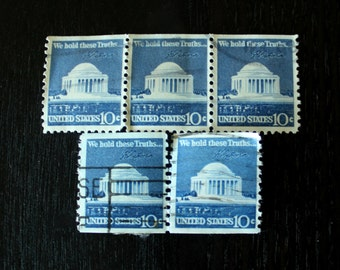 US 'We Hold These Truths...' 10 cent Stamps