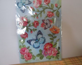 Special moments 3D stickers Flowers and butterflies for your scrapbooking