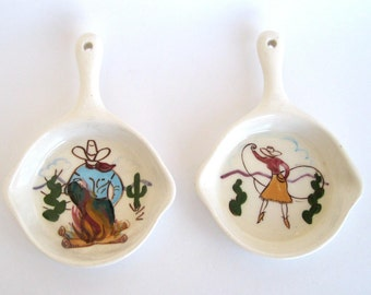 Harold H. Linden Small Wall Hangings -  Hand Painted by Motney
