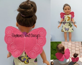 Doll Fairy Wings design file