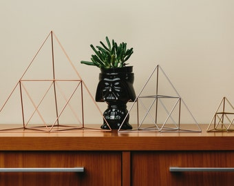 Himmeli Figure 2 || The Geometric Triangle Sculpture
