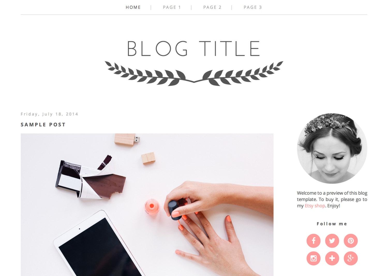 Ungewöhnlich Blogger Vorlagen Mode Zeitgenössisch - Entry Level ...