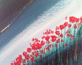 30 x 40 3Dimensional Twilight Poppies