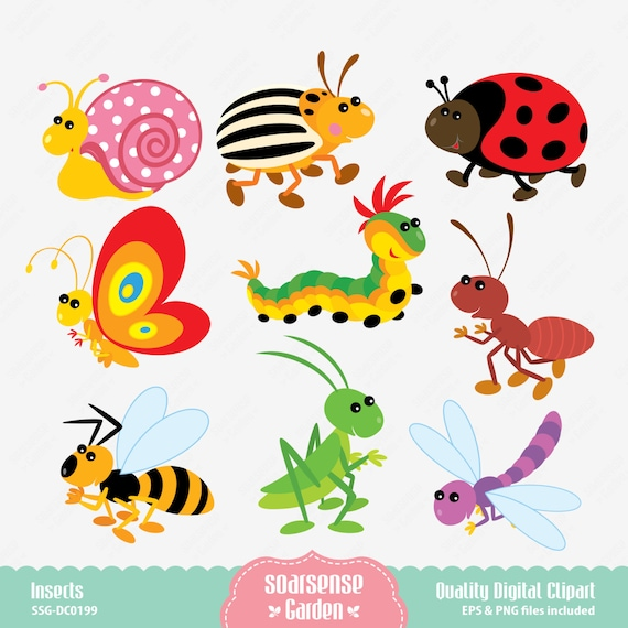 insects clipart ...Spring Insects Clipart