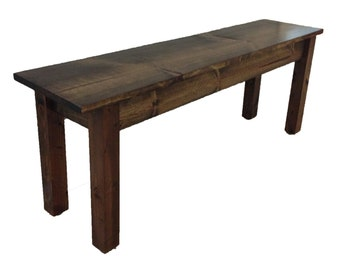 Bench / Rustic Bench / Farmhouse Bench