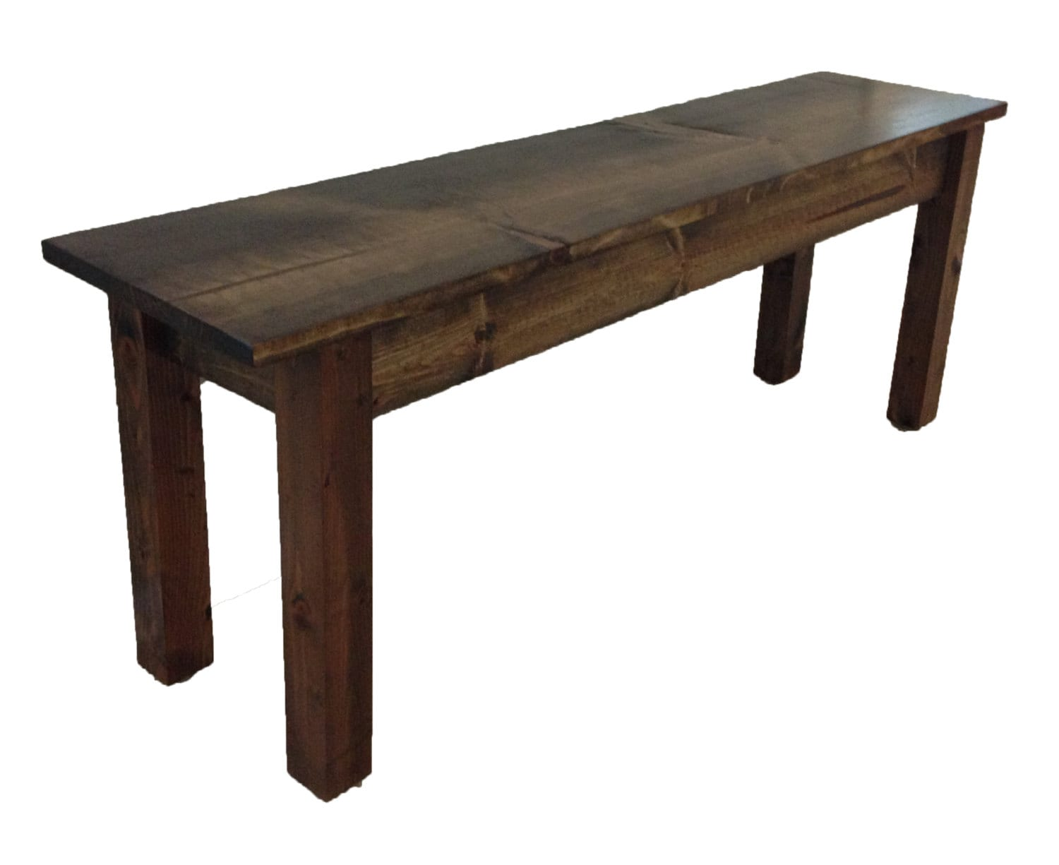 Bench Rustic Bench Farmhouse Bench