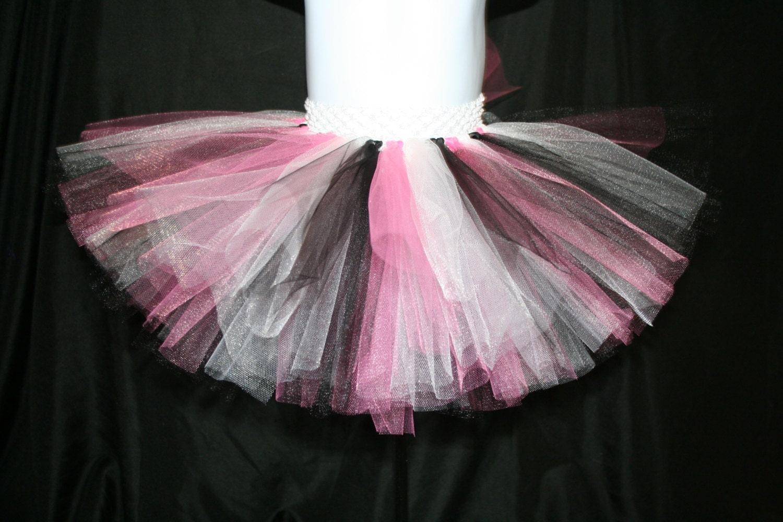 Pink White And Black Tutu Skirts Children S Tutu Skirts