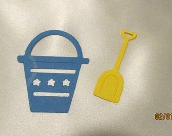 pail and shovel die cuts