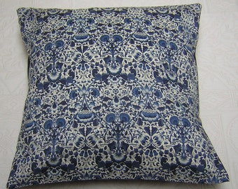 Liberty of London Fabric Cushion Cover - Lodden