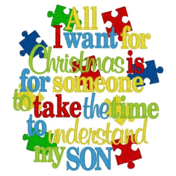Merry Christmas Son Quotes: Items Similar To All I Want For Christmas Is For Someone