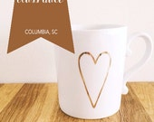 JUNE Coffee + Calligraphy Class Enrollment : Columbia, SC