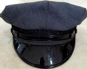 FREE  SHIPPING 1950's-1960's Military/Sailor Navy Hat