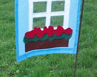 Window Box Flag