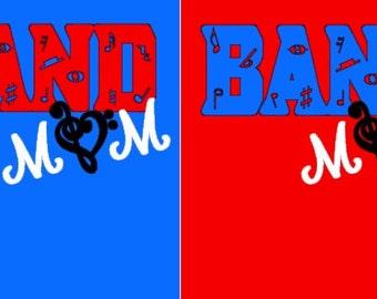 Band Mom Shirt Free Shipping