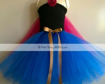 Princess Tutu Dress outfit, Birthday, playing dress up, princess costume, dance gown, pageant dress, very nice Princess Halloween costume!
