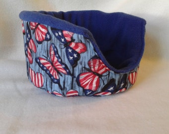 Snowcone's patriotic butterfly cozy cuddle cup