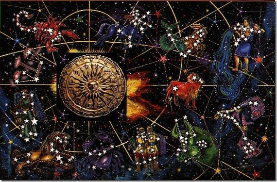 Astrological Personal Natal Birth Chart Reading. Cosmic passport. Astrological birth chart.