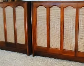 Pair Electro-Voice EV-SIX Speakers... Superb Condition..Newly Re-Stained Superb Cond ..for Tube Amps McIntosh Dynaco Fisher Cary HeathKit