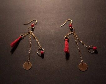 Dreams of Chantal traps earrings