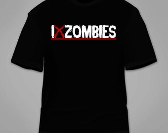 I Shotgun Zombies T-Shirt. Funny