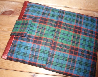 Tartan iPad cover / iPad sleeve