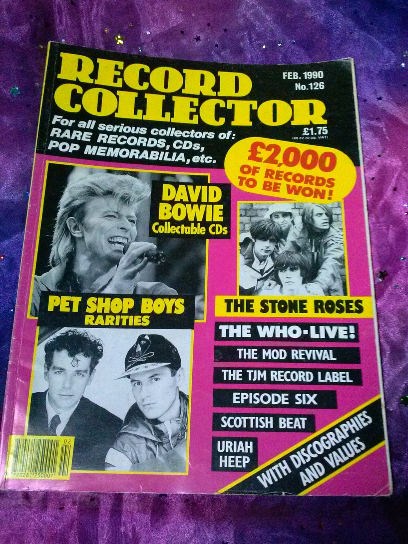 Vintage Record Collector Magazine February 1990 British Music