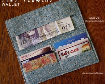 Tiny Flowers Wallet