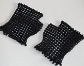 Custom Order - Crochet Lace Mittens
