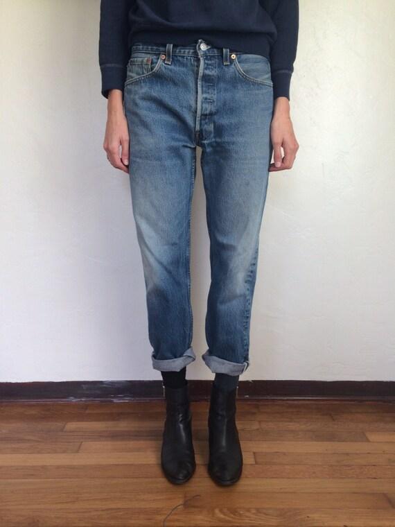 Levis 501 Boyfriend Jeans. Size 32