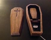 Coffin iPhone dock