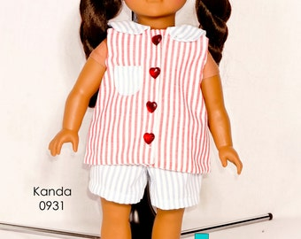 PDF doll pattern, american girl doll clothes pattern, PDF doll clothes pattern, 18 inch doll clothes, doll clothes pattern