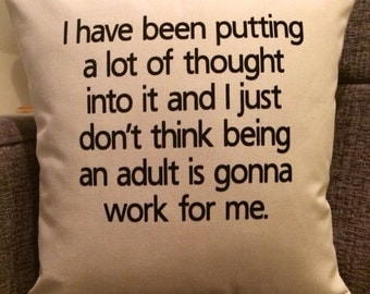 Personalised Quote Cushion