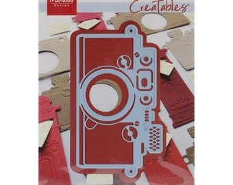 "Marianne Designs Creatables Die ~ Camera, 4.25""X2.25"" ~ LR0274 ~"