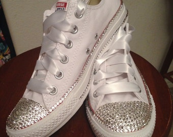 Adult Bride / Prom Bling Converse