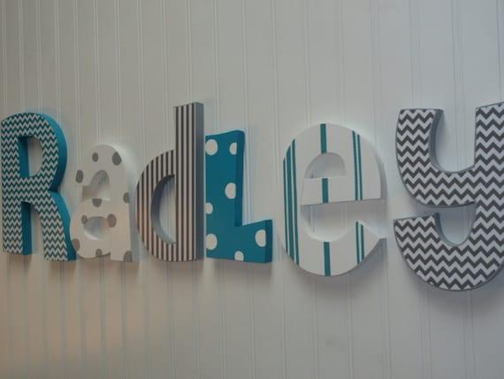 Nursery Decor Nursery Wall Decor Nursery Letters Boy