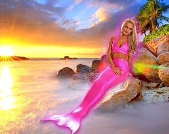 Swimmable Mermaid Tails! Add Monofin/Add Bikini
